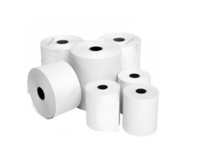 Thermal Paper Roll    Green 80 x 80 x 12.7mm 20 Roll Box