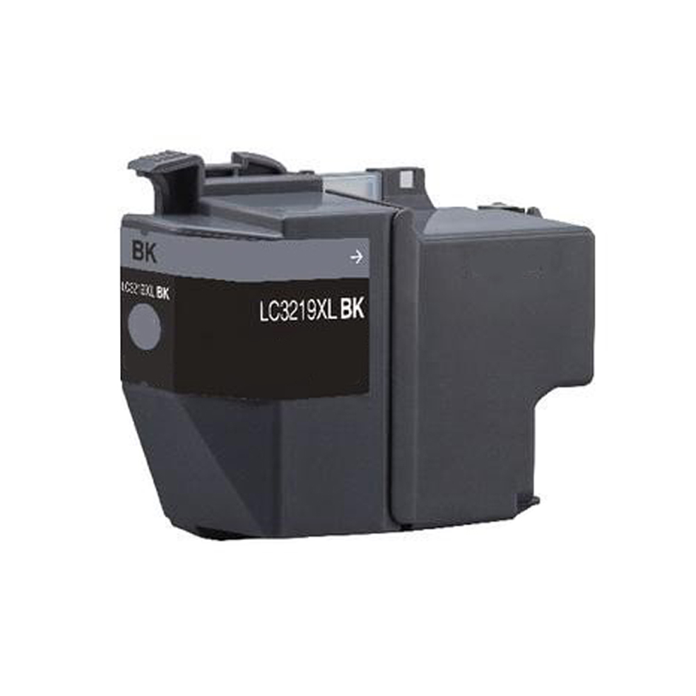 Compatible Brother LC3219XLBK  Black 3000 Page Yield