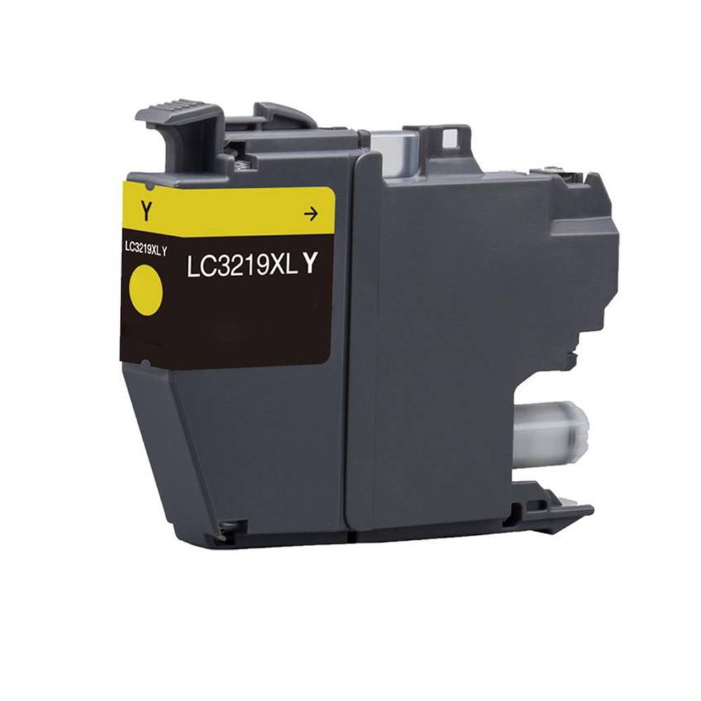 Compatible Brother LC3219XLY  Yellow 1500 Page Yield